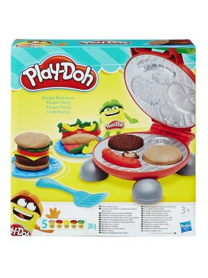 PLAYDOH BURGER BARBECUE, , , .