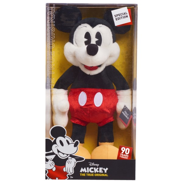 DISNEY MICKEY 90TH DELUXE LARGE PLUSH, P216375, , .