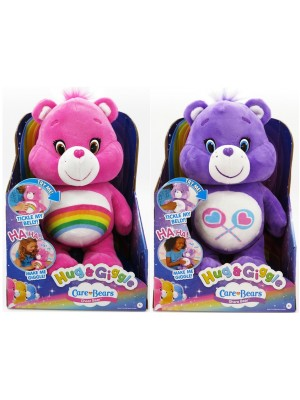 CARE BEARS HUG N GIGGLE FEATURE PLUSH, , , .