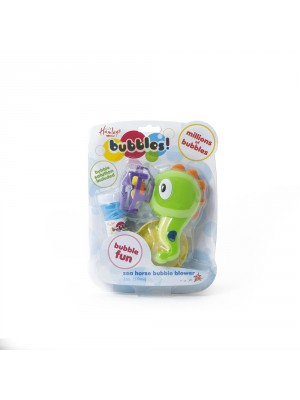 HM SEA HORSE BUBBLE BLOWER W/2 OZ BUBBLES, , , .