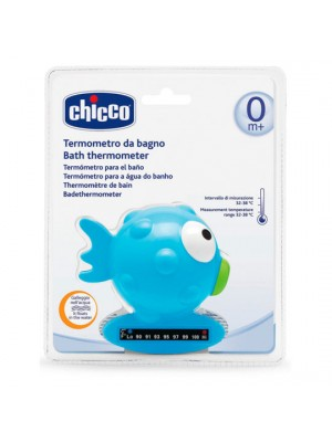 Bath Thermometer Globe Fish – Light Blue (pastel), , , .