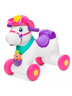 Move n Grow Miss Baby Rodeo - White with additional pink as primary colour, , , .