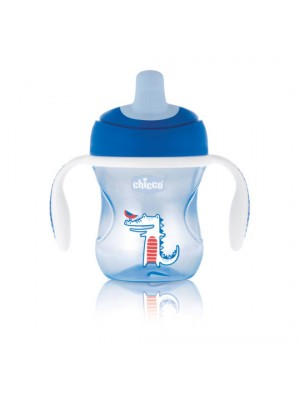 Training Cup – 6 Months - Boy Blue & Green, , , .