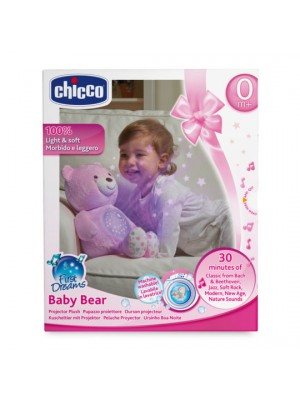 First Dreams Baby Bear - Pink, , , .