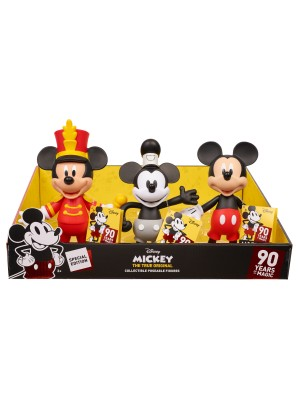 MICKEY MOUSE 90TH ROTO POSEABLE FIGURE ASST, , , .