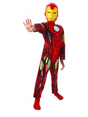 IRON MAN ACTION SUIT IN BLISTER W/MASK, , , .