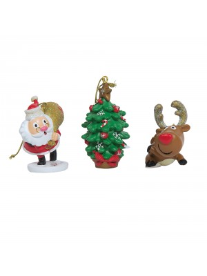 Hamleys Christmas Reindeer Tree Decoration, , , .