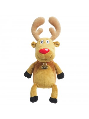Hamleys Christmas Reindeer Soft Toy, , , .