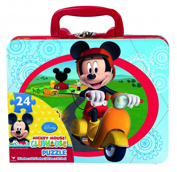 MICKEY MOUSE PUZZLE IN LUNCH TIN, 22693, , .