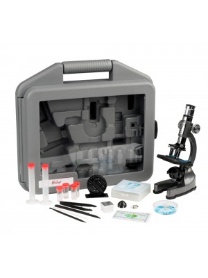 HAMLEYS MICROSCOPE SET C/CASE, , , .