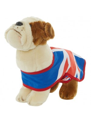 Hamleys 30cm Union Jack Bulldog Soft Toy, , , .
