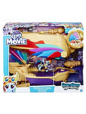 MY LITTLE PONY MOVIE SOARING SWASHBUCKLER PIRATE AIRSHI, , , .
