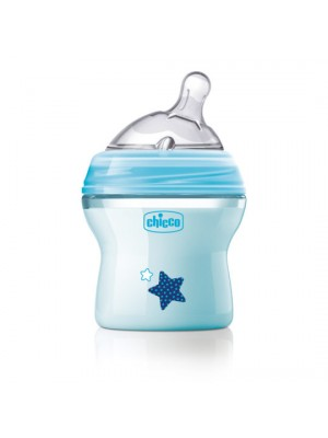 Natural Feeling Bottle – 0 Months – 150ml (Blue), , , .