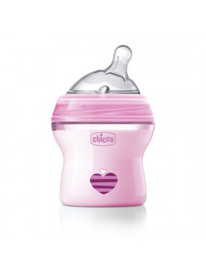 Natural Feeling Bottle – 0 Months – 150ml (Pink), , , .