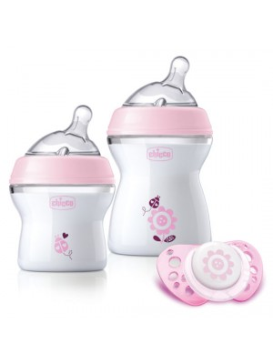 Natural Feeling Feeding Gift Set – Pink, , , .