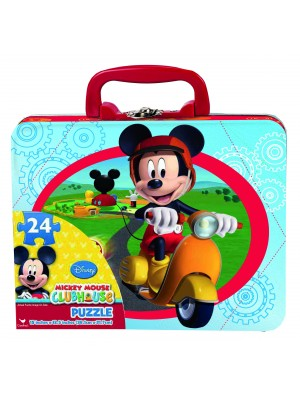 MICKEY MOUSE PUZZLE IN LUNCH TIN, , , .