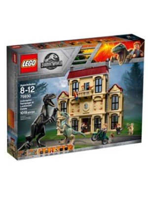 INDORAPTOR RAMPAGE AT LOCKWOOD ESTATE, , , .