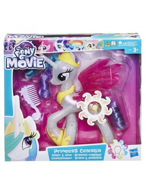 MY LITTLE PONY MOVIE GLIMMER N GLOW PRINCESS CELESTIA, , , .
