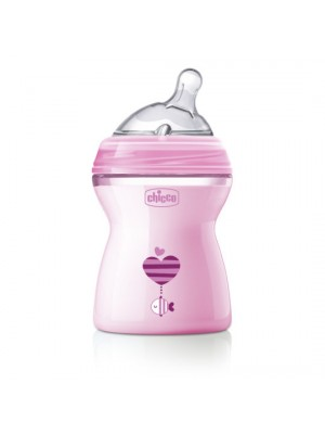 Natural Feeling Bottle – 2 Months – 250ml (Pink), , , .